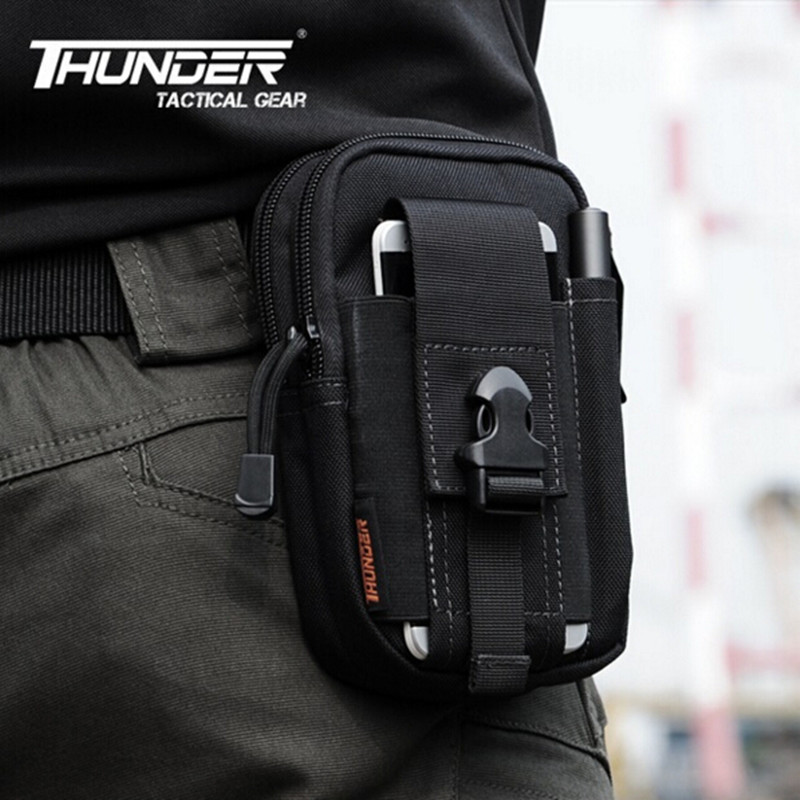 D30 Tactical Molle Waist Bags Men's Outdoor Sport Casual Waist Pack Purse Mobile Phone Case for SAMSUNG Note 2 3 4 1000D CORDURA(China (Mainland))