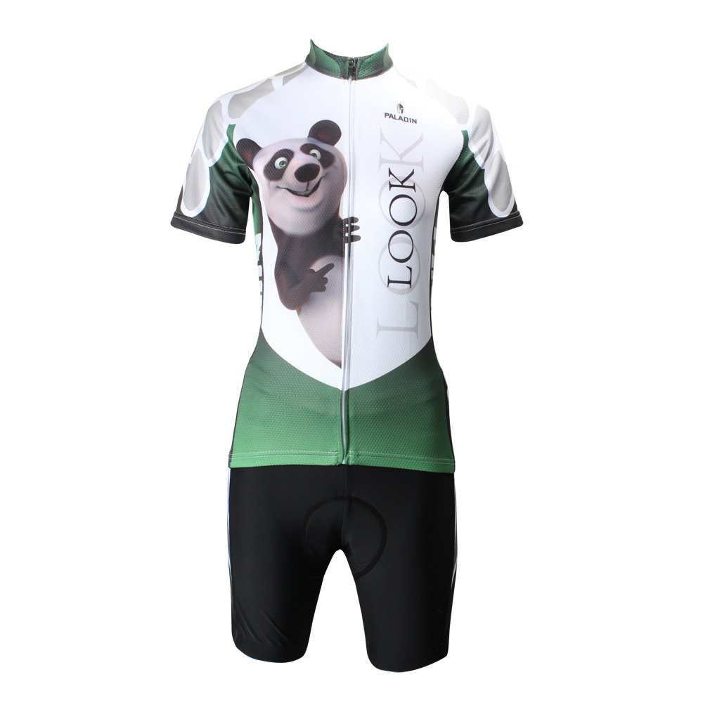 panda cycling clothing sleeve clothes