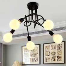 Free shipping tree branches restaurant dining room ceiling lights fixture American foyer bedroom clubs cafes shops ceiling lamps(China (Mainland))