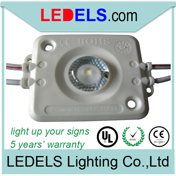 Led module for lightbox simple side, 1.4w 120lm high power 12v light for lightbox, 5 years warranty<br><br>Aliexpress