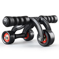 High Quality 3 Wheels AB Roller Fitness Equipment Professional New Style Abdominal
