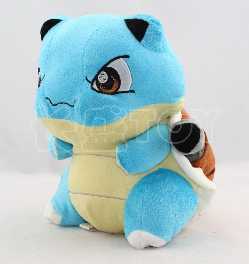 Pokemon 15CM Water Blastoise Brinquedos Cute Plush Toys Blastoise With Tags New Japan Fashion Cartoon Plush Toys(China (Mainland))