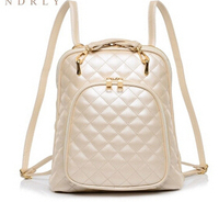 2015 new ling backpack female spring tide women   fashion leather  Backpacks mochila feminina