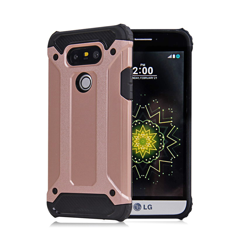 Drop Proof plastic + silicon dual layer hard tough armor defender phone case for LG K10 G4 Stylus G5 G4 heavy duty back cover(China (Mainland))