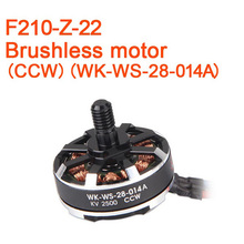 Original Walkera F210 RC Helicopter Quadcopter Spare Parts Brushless Motor(CCW )(WK-WS-28-014A) F210-Z-22