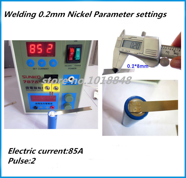 SUKKO 787A Spot Welder Battery Welder Applicable Notebook and Phone Battery Precision Welding Pedal 787a