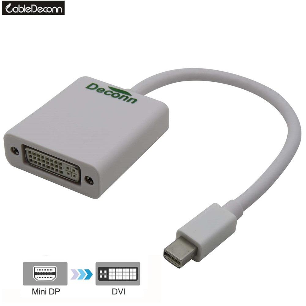 Thunderbolt Mini DisplayPort to DVI Single Link Digital Converter for Apple Mac Macbook 0.2m<br><br>Aliexpress