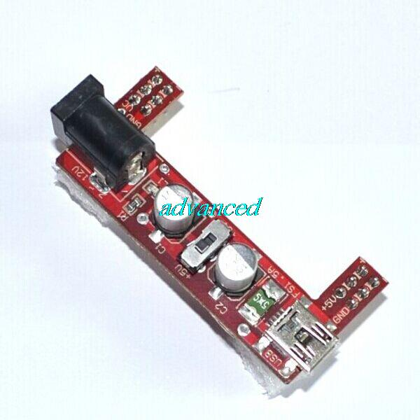 Электронные компоненты 2/way 5V /3, 3 ARDUINO Breadboard Power Supply Module 2-way 5V33V