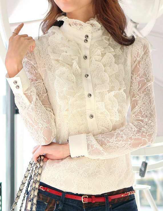 Frilly Victorian Blouse 71