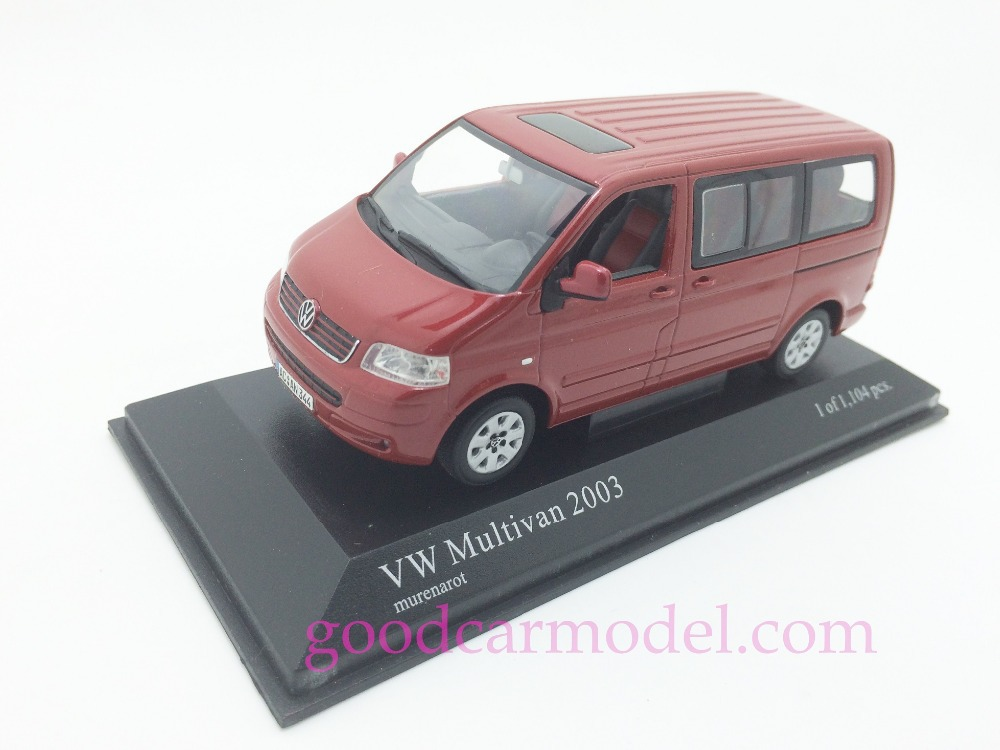 New Minichamps 1:43 Car Model Volkswagen Multivan 2003 400052200 Free Shipping From HK(China (Mainland))