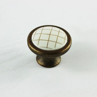 bronze kichen cabinet drawer handle knob antique brass dresser cupboard door pull knob 37mm  vintage  ABS furniture door knobs<br><br>Aliexpress