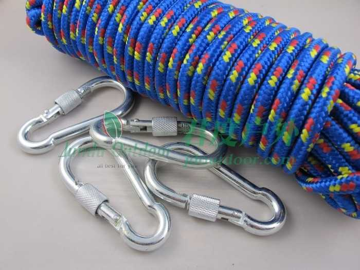 Carabiner key chain hanging straps buckle bearing quickdraw carabiner clasp earthquake fire safety(China (Mainland))