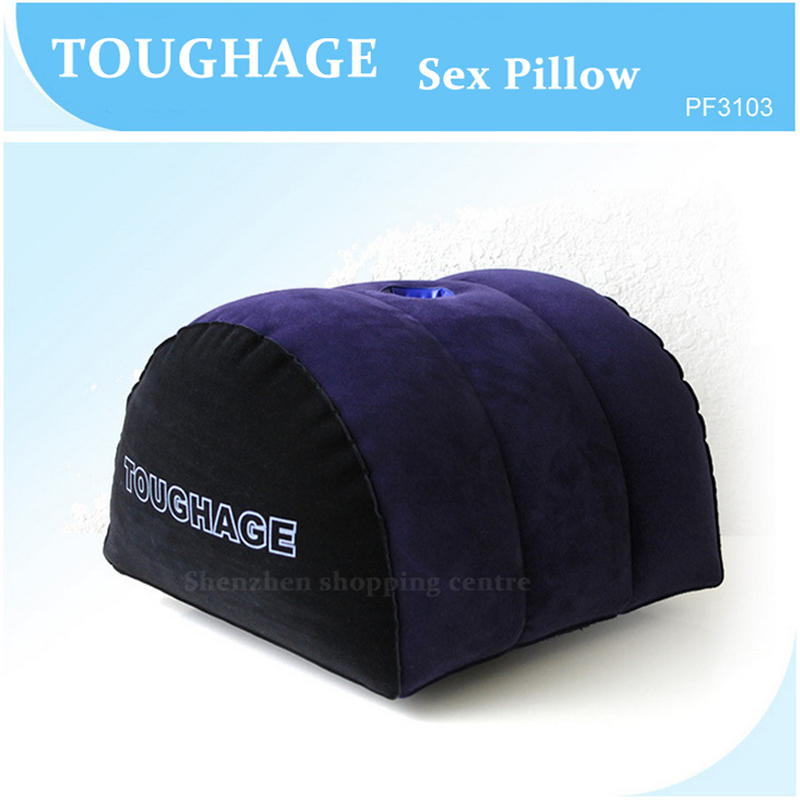 Hot sale TOUGHAGE sex pillow inflatable erotic sex furniture multifunction cushion machine pad adult sex toys for couples PF3103