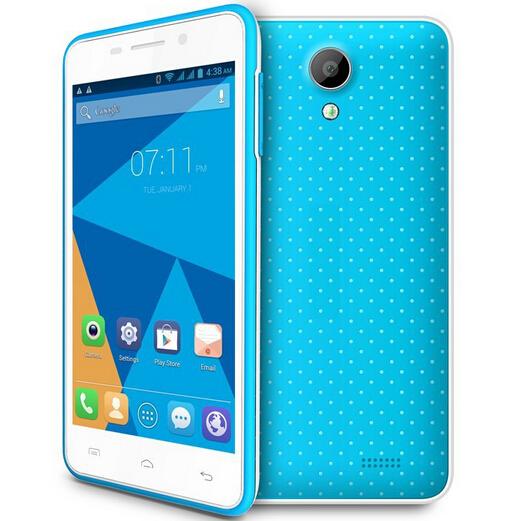 Original DOOGEE LEO DG280 MTK6582 Quad Core Cell Phone 4.5 inch IPS Srceen 1GB RAM 8GB ROM Android 4.4 854*480 3G WCDMA PHONE(China (Mainland))