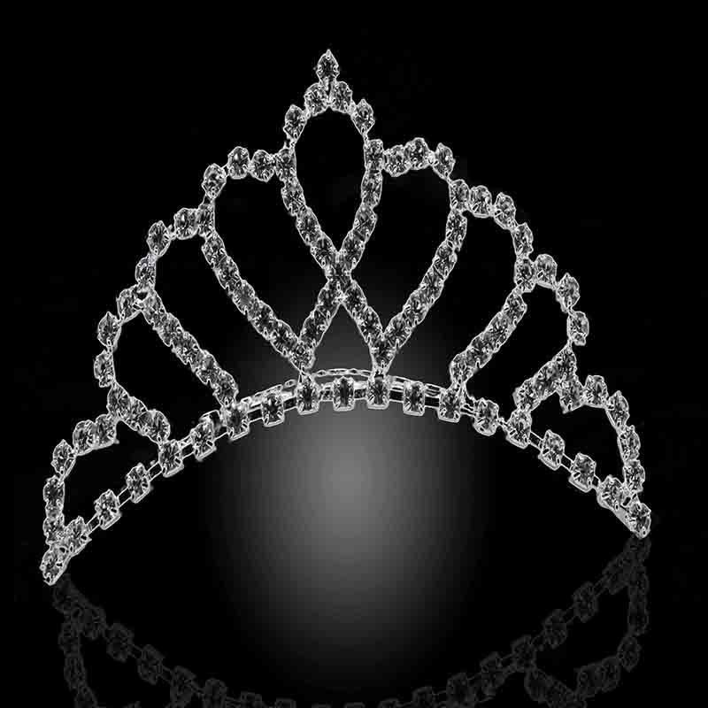 Yvettejewelry 2015 New bride wedding jewelry Fashion rhinestone ornament Crystal tiaras and crowns of Women HT003(China (Mainland))