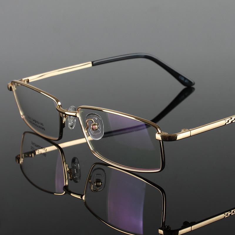 Glasses Frames With Lights : Alloy Frame Eyewear Fashion Male Optical Glasses Full ...