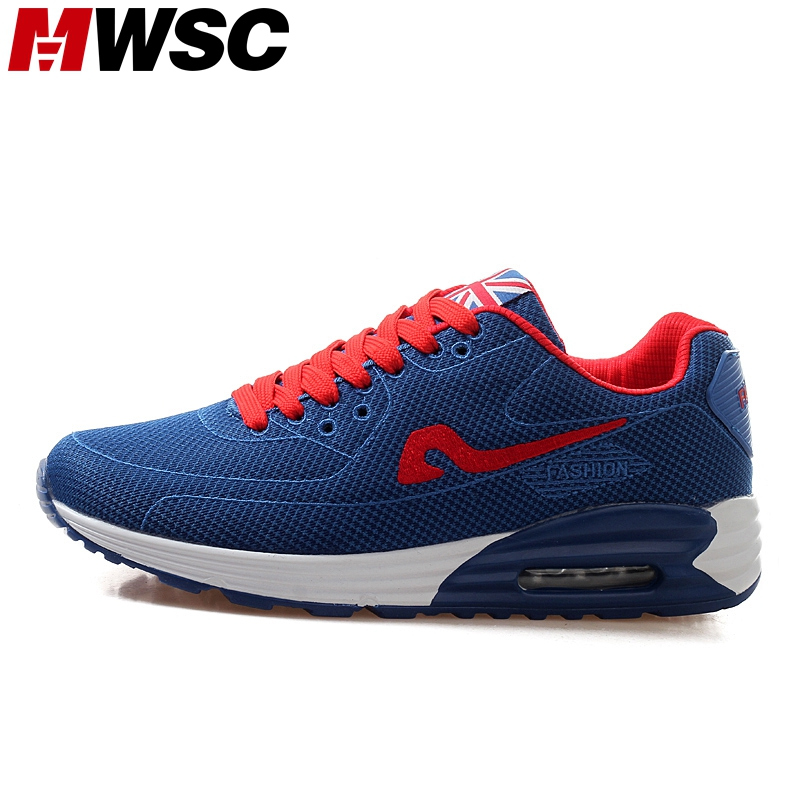 MWSC New Design Fashion Casual Shoes Men Breathable Air Cushion Mesh Light Lace up Shoes Zapatillas Deportivas Hombre(China (Mainland))