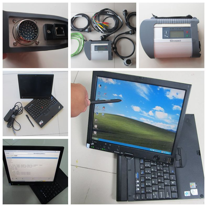 2015 Last MB Star C4 SD Connect C4 Compact+touch screen Laptop X61 4GB+MB Star C4 Software(Version:2015.07) with super quality(China (Mainland))
