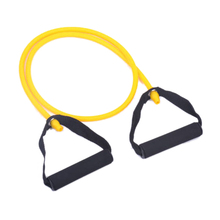 hot sale!2 pcs Resistance bands chest expander Rope spring exerciser -Yellow