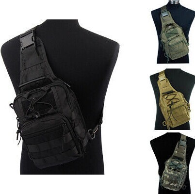 Unisex * Tactical Fly Fishing Camping Equipment Outdoor Sport Nylon Wading Chest Pack Cross body Sling Single Shoulder Bag - China GZT Co.,Ltd store