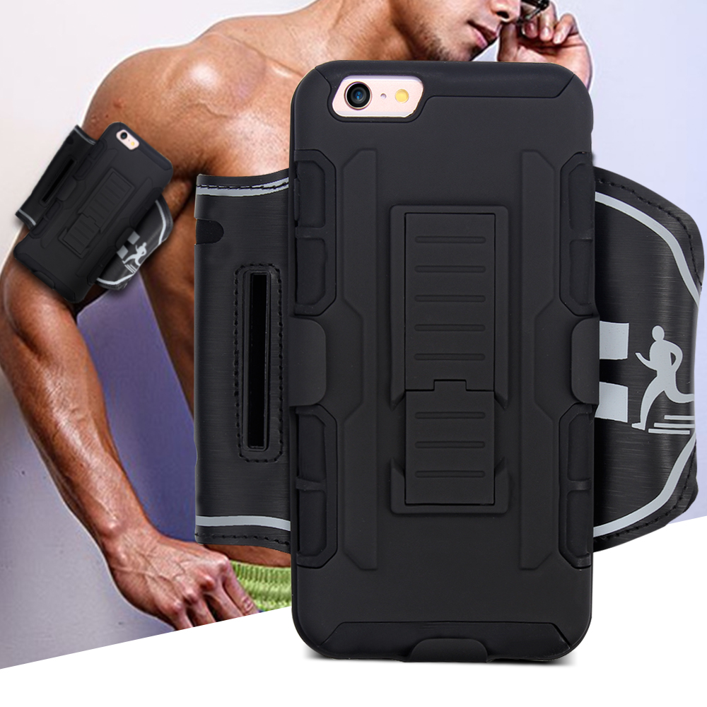High-grade and Removable Mobile Phone Gym Running Sport Armband For iPhone 5S/5 and for Samsung Galaxy S6/S7/S5/S4/S6 Edge/S3(China (Mainland))