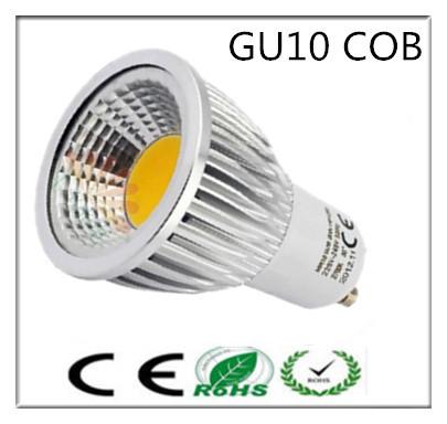 5pcs Super Bright GU 10 Bulbs Light Dimmable Led 85-265V 9W 12W 15W GU10 COB LED lamp light GU10 e14 e27 b22 led Spotlight(China (Mainland))