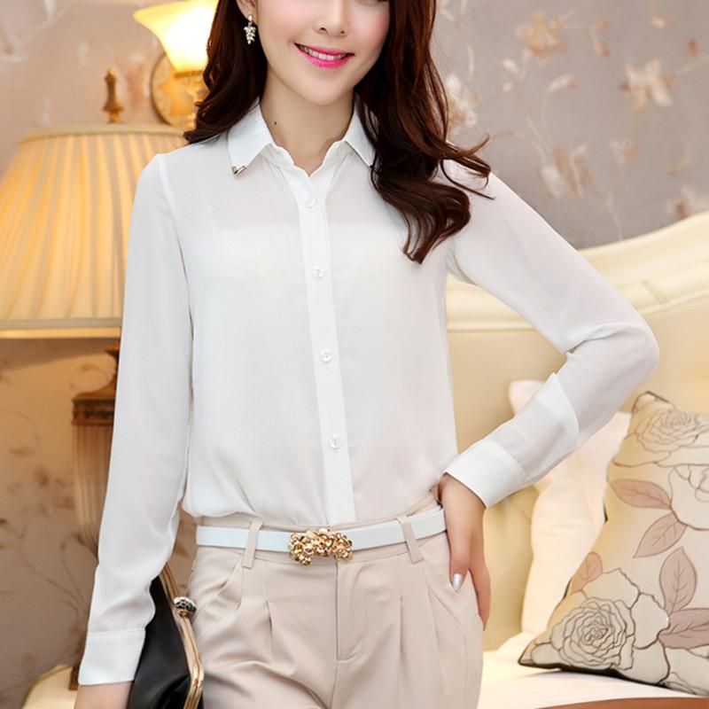 Блузки Белые Женские