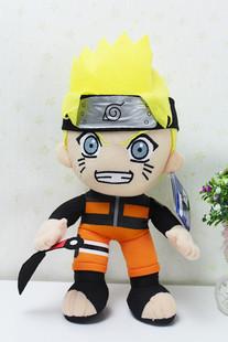 Naruto 30cm The Uzumaki Naruto plush anime doll gift free shipping w6578(China (Mainland))