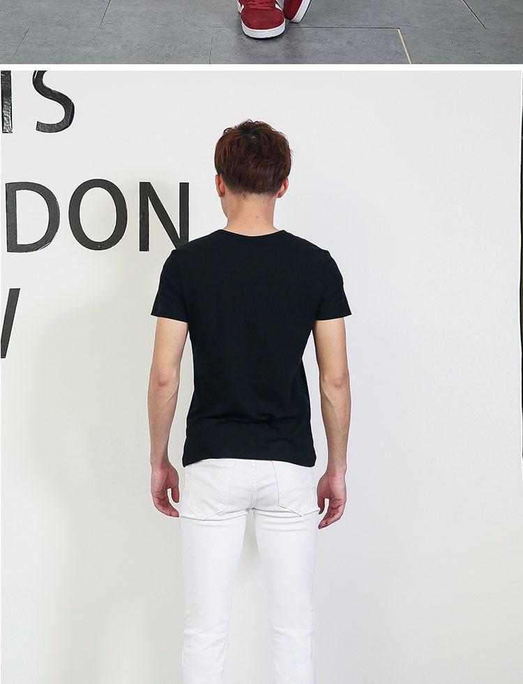 Скидки на 2016 новый мужской отверстие джинсы t мужские разорвал байкер джинсы уменьшают подходящую мыть белый джинсовые брюки для u-тощие мужчины MB16154