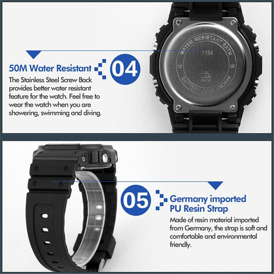 2016 TTLIFE brand Watches Men Military LED Digital Watch Man Dive 50M Fashion Outdoor Sport Wristwatches clock relogio masculino