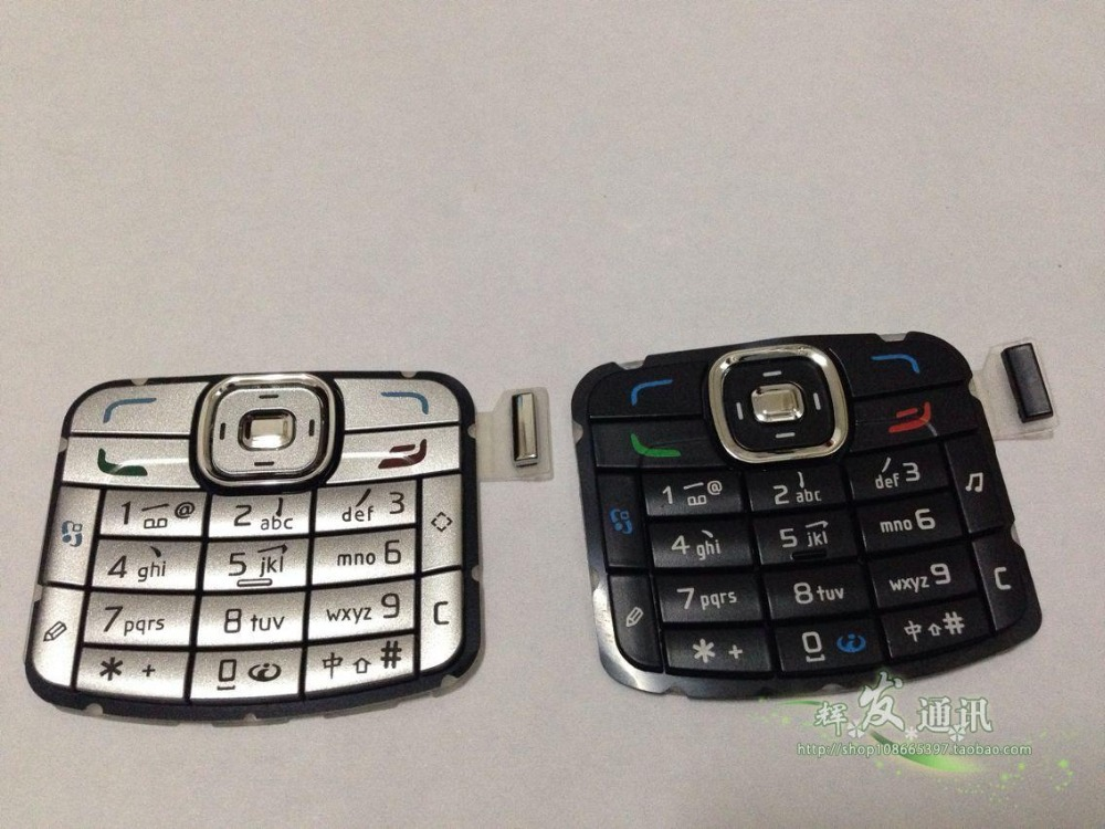 New Original keypads Housing Cover Case Button For Nokia N70 keypads Free Shipping(China (Mainland))