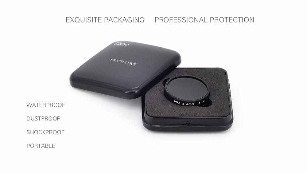 DJI phantom 4 3 Professional Advanced Camera Lens Filter Light Microscopy ND2-400 screw thread version drone parts accessories