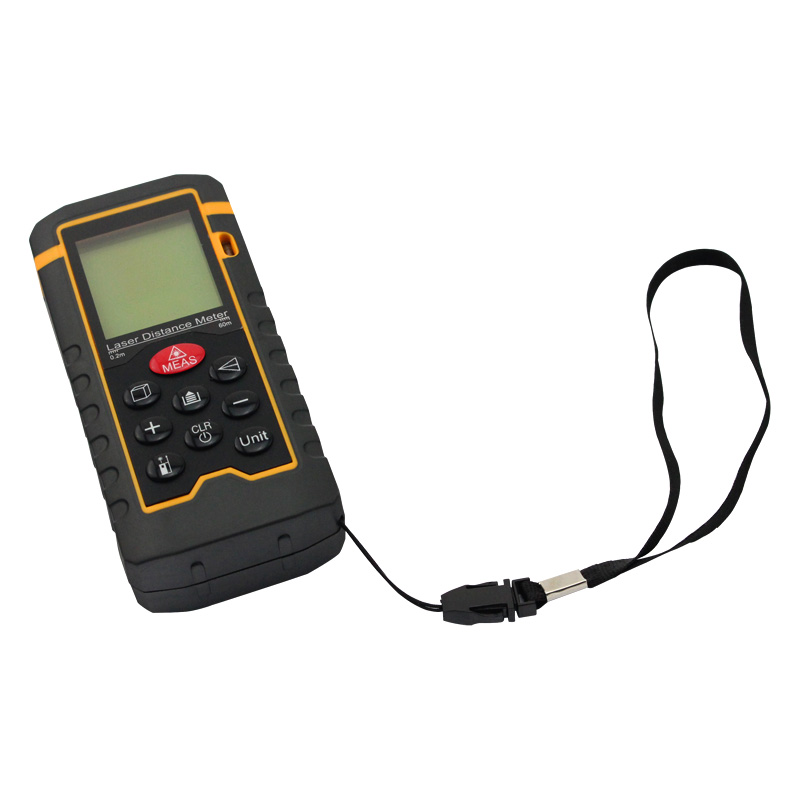 60m 197ft HT-60 Laser Distance Meter Measuring Tool Rangefinder Tape Measure Area/Volume Range Finder With Painter Function(China (Mainland))