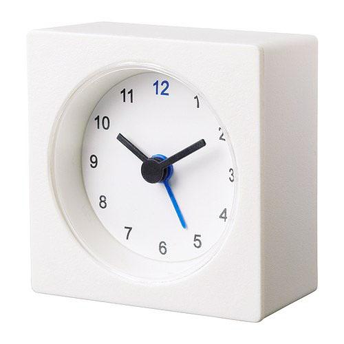 IKEA Basic Economical White Vackis Alarm Clock(China (Mainland))