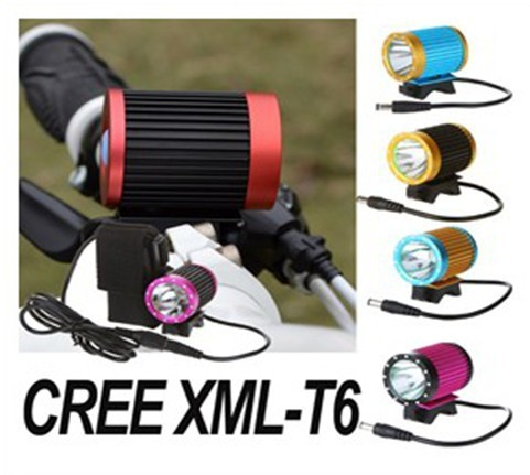 6000mAh New CREE XML - T6 LED Bike Light Rechargeable Battery Bicycle Front Lamp Set Accessories for Outdoor Sports for Men