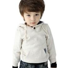 2015 Boys Fashion Sweatshirt Hot Sale Spring Autumn Children's Hoodies Jean Patchwork Pullover Kids Clothes Outerwear Retail(China (Mainland))