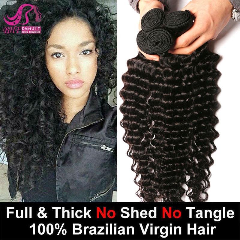7A Grade Unprocessed Brazilian Virgin Hair Deep Curly Queen Hair Products Brazilian Deep Wave Human Hair Brazilian Virgin Hair<br><br>Aliexpress