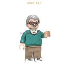 O cantor John Lennon Paul McCartney Ringo Starr George Harrison Building Block Com Stan Maravilha Deadpool Brinquedos Para As Crianças(China)