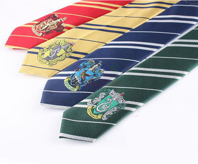4 Color Fashion New Tie Clothing Accessories Borboleta Necktie College Style Tie Harry Potter Gryffindor Series Tiestyle Gift(China (Mainland))