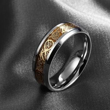 Бесплатная доставка дракон нержавеющей стали 316L кольцо мужские ювелирные изделия ...