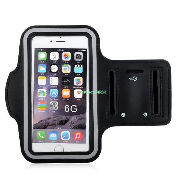Sports Gym Black Armband Case Running Cover Holder For Apple iPhone 6G Plus EP9893 Armband For Apple iPhone 6(China (Mainland))