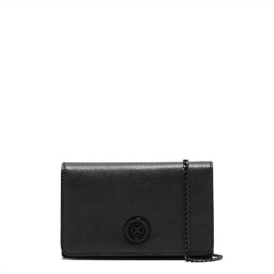 FREESHIPPING MIMCO SUPERSONICA MAT BLK CHIAN WALLET<br><br>Aliexpress