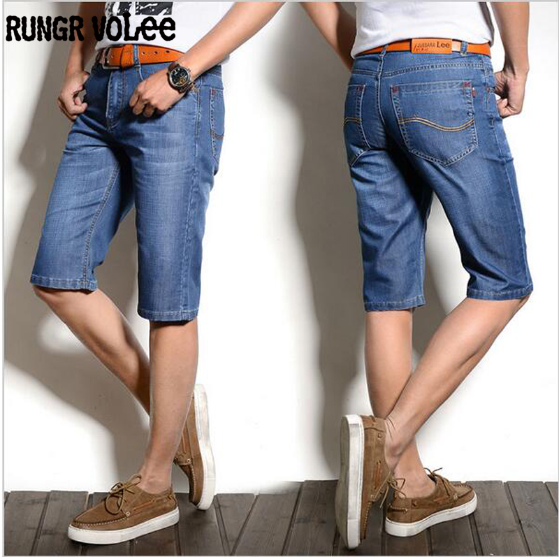 2016 17 rungr volee Summer Men Short Jeans Men's Fashion Shorts Men Big Sale Summer Clothes New Fashion Brand Men's Short Pants(China (Mainland))