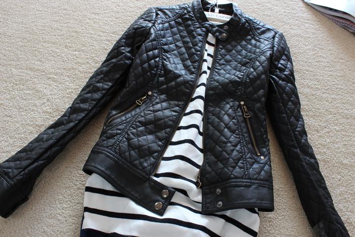 2015 большой бренд мода женские тонкий мотоцикла кожаные куртки осень зима женщины искусственная кожа плащ FWO10909