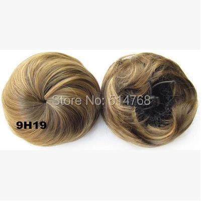 New style clip elastic net hair bun Chignon Ponytail Drawstring Hairpieces - Yiwu Will Fashion Shop store
