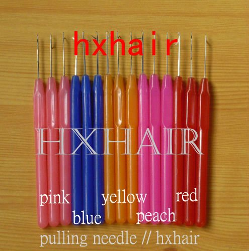 Freeshipping - 10pcs Plastic Handle Pulling Needle / Micro Rings / Loop Hair Extension Tools<br><br>Aliexpress