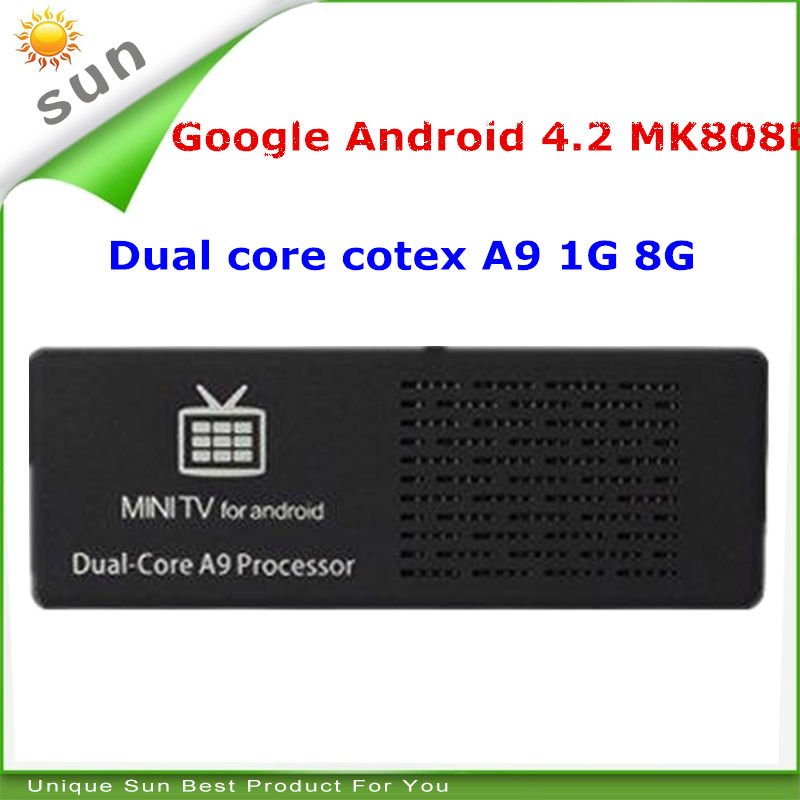 New 2014 cheap android smart tv dongle internet tv box tv sticks dual core 1G 8G support hdmi usb wifi DHL FedEx shipping(China (Mainland))