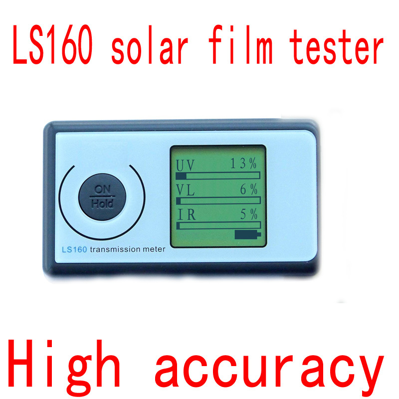 LS160 Portable Solar Films tester equipment accurate test data stable transmittance of visible and infrared transmission value(China (Mainland))