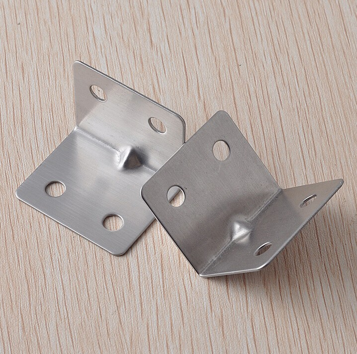 Stainless steel angle code right iron furniture