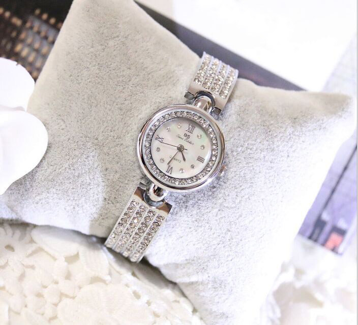 Free Shipping High Quality Famouse brand Luxury Women Watch Lady Dress Watch  Rhinestone Bling Crystal Bangle Watches Famale <br><br>Aliexpress